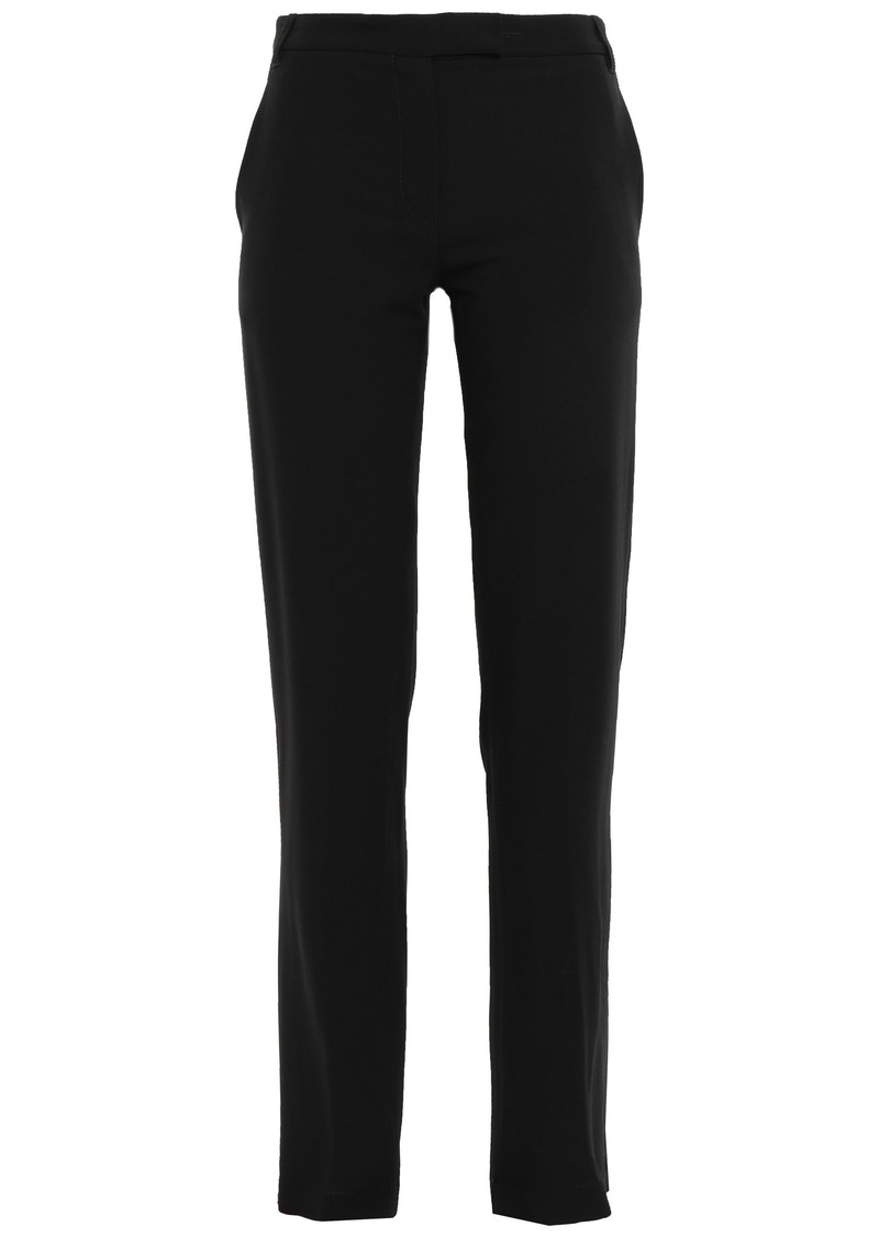 Ann Demeulemeester Woman Crepe Straight-leg Pants Black