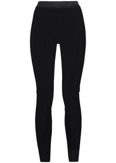Ann Demeulemeester Woman Jersey Leggings Black