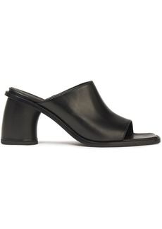 Ann Demeulemeester Woman Leather Mules Black