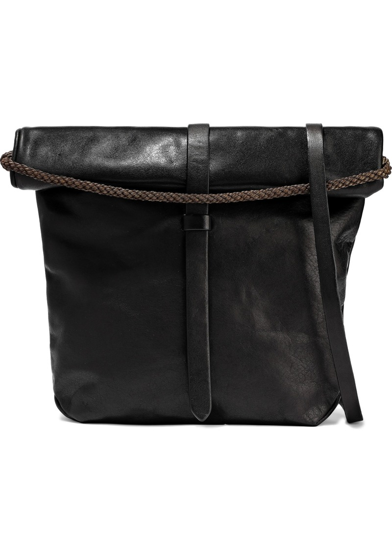 Ann Demeulemeester Woman Cimone Leather Shoulder Bag Black