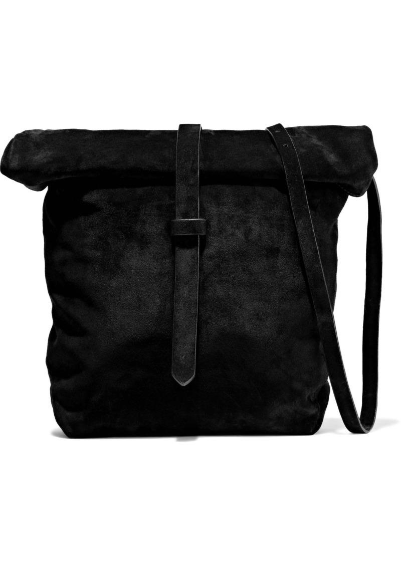 Ann Demeulemeester Woman Cimone Suede Shoulder Bag Black