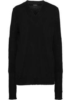 Ann Demeulemeester Woman Wool Sweater Black