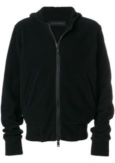 Ann Demeulemeester zipped hoodie - Black