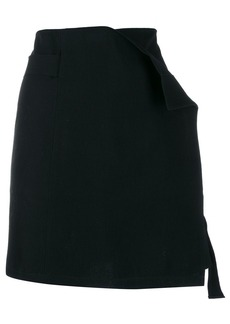 Ann Demeulemeester asymmetric mini skirt