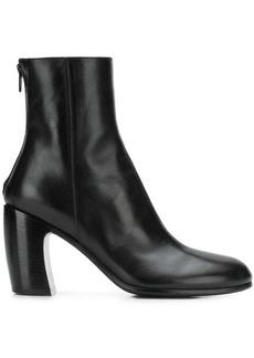 Ann Demeulemeester back zip mid-calf boots