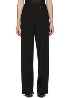 Ann Demeulemeester Black Belt Trousers