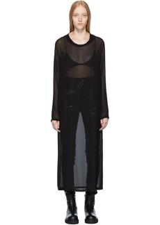 Ann Demeulemeester Black McLottie Dress