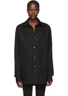 Ann Demeulemeester Black Oversized Cotton Shirt