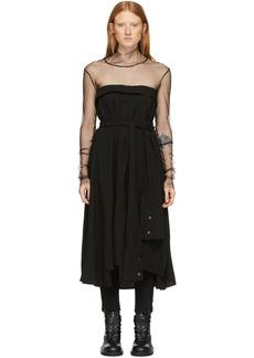 Ann Demeulemeester Black Ruth Dress