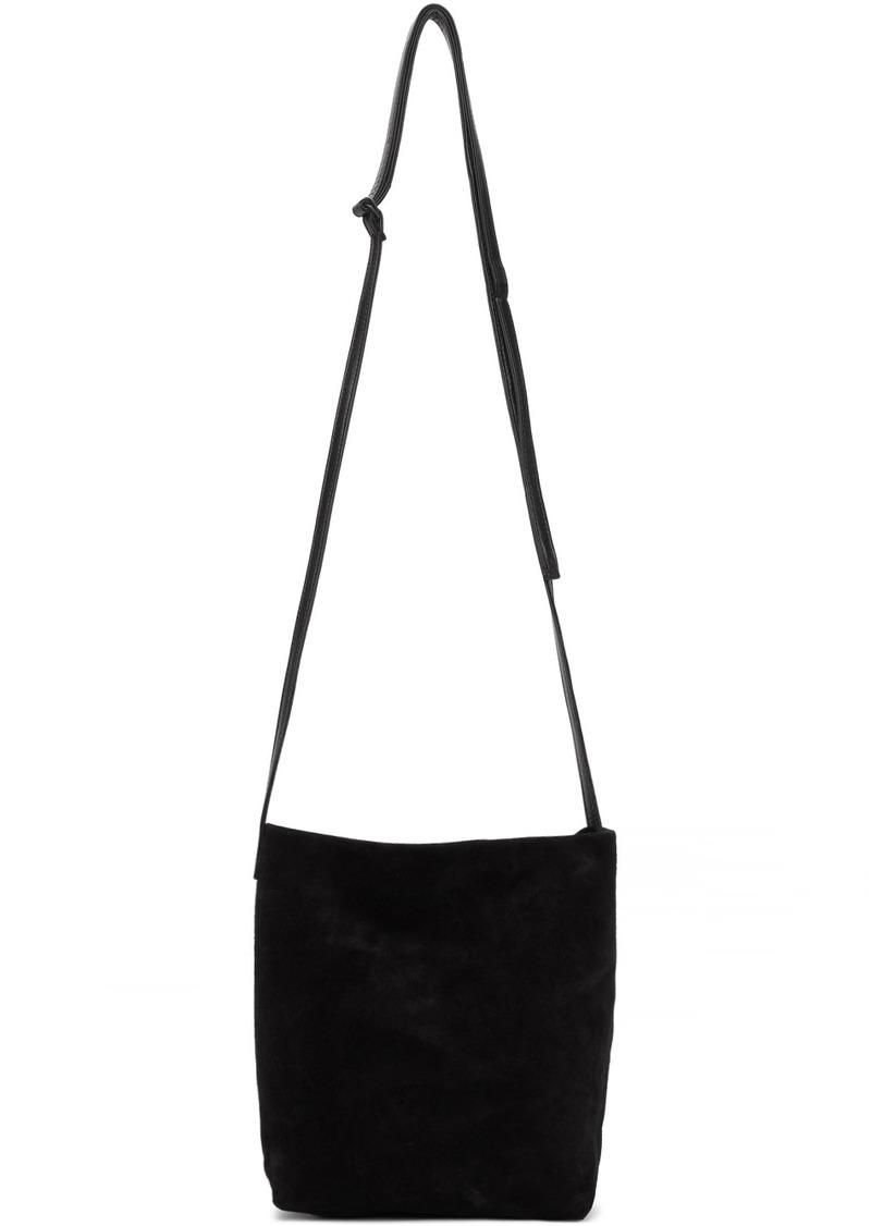 Ann Demeulemeester Black Suede Medium Astoria Bag