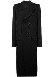 Ann Demeulemeester boxy double-breasted coat