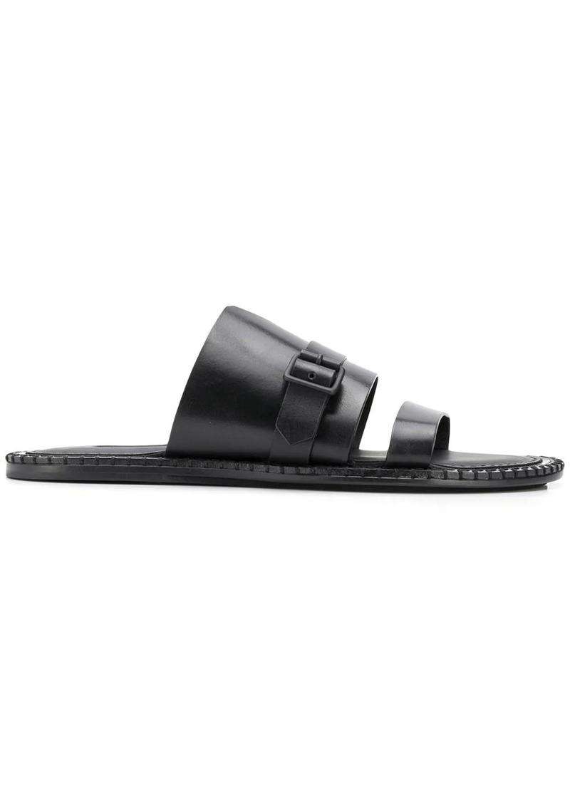 Ann Demeulemeester buckled flat sandals