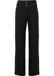 Ann Demeulemeester buttoned side high waist trousers
