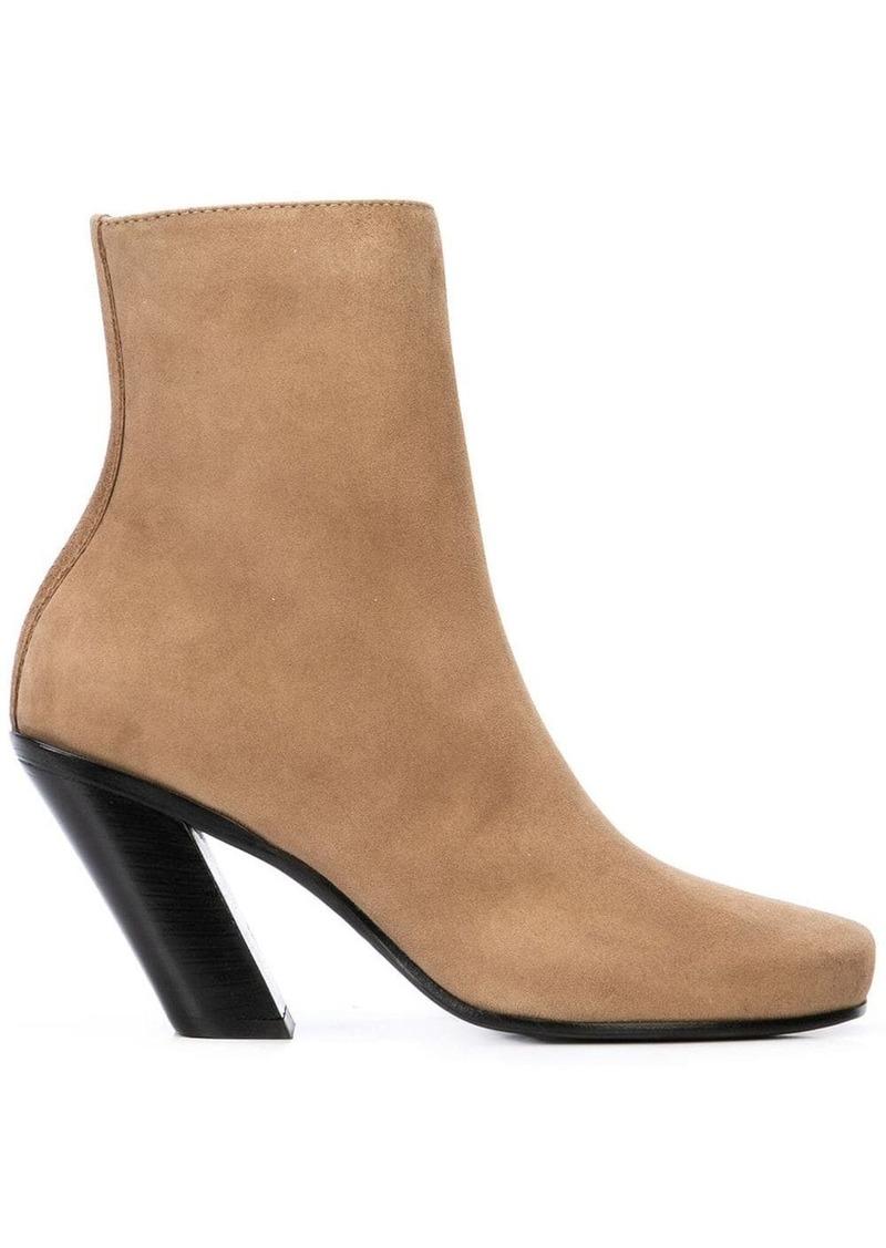 Ann Demeulemeester camoscio ankle boots
