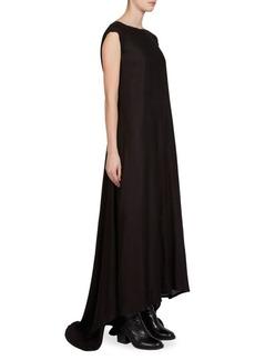 Ann Demeulemeester Cap-Sleeve Gown
