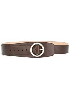Ann Demeulemeester circular buckle belt