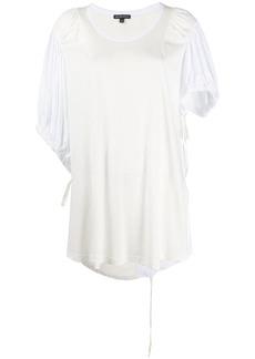 Ann Demeulemeester contrast sleeve oversized T-shirt