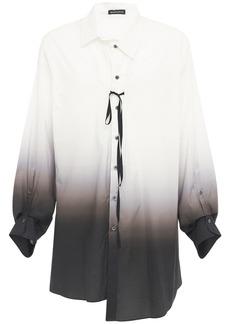 Ann Demeulemeester Cotton Degradé Shirt