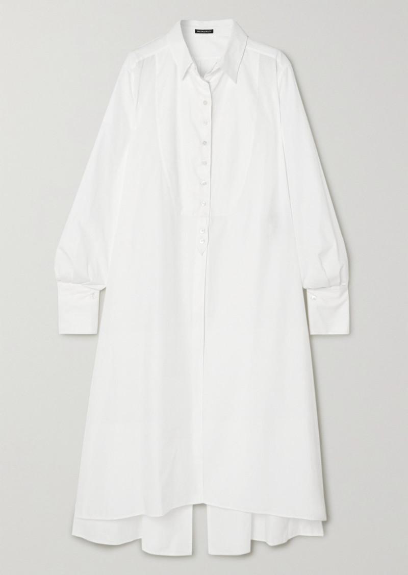Ann Demeulemeester Cotton-poplin Shirt