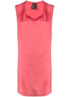 Ann Demeulemeester cowl-neck sleeveless dress