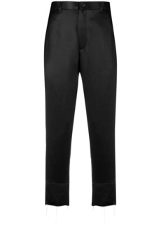 Ann Demeulemeester cropped high waisted trousers