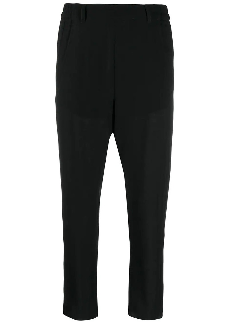 Ann Demeulemeester cropped tapered trousers