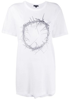 Ann Demeulemeester 'Crown of Thrones' crew neck T-Shirt