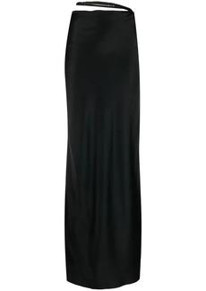 Ann Demeulemeester detached-waistband skirt