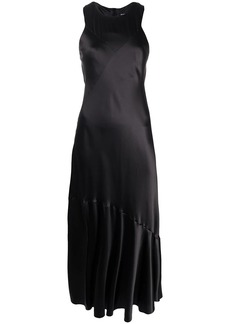 Ann Demeulemeester disc cut maxi dress