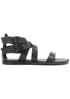 Ann Demeulemeester double buckle sandals