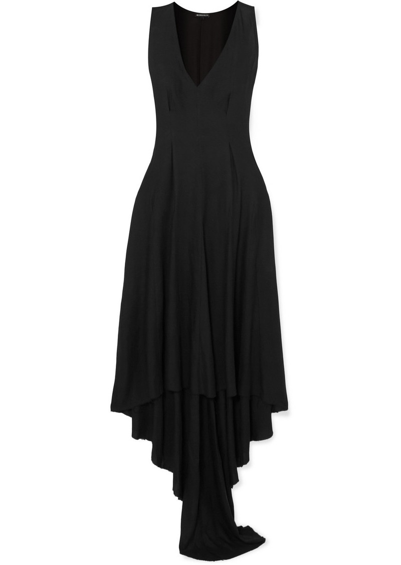 Ann Demeulemeester Draped Jersey Dress