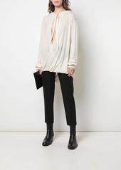 Ann Demeulemeester draped knit top