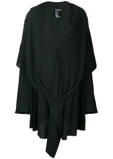 Ann Demeulemeester draped v-neck dress