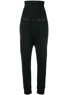 Ann Demeulemeester drawstring waist trousers