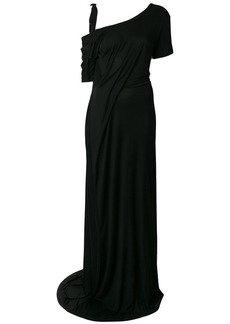 Ann Demeulemeester drop-shoulder maxi dress