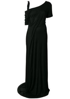 Ann Demeulemeester drop-shoulder maxi dress