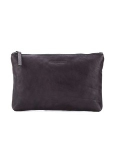 Ann Demeulemeester embossed clutch bag