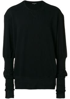 Ann Demeulemeester extended sleeve sweatshirt