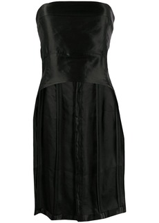 Ann Demeulemeester fitted curved hem bustier top