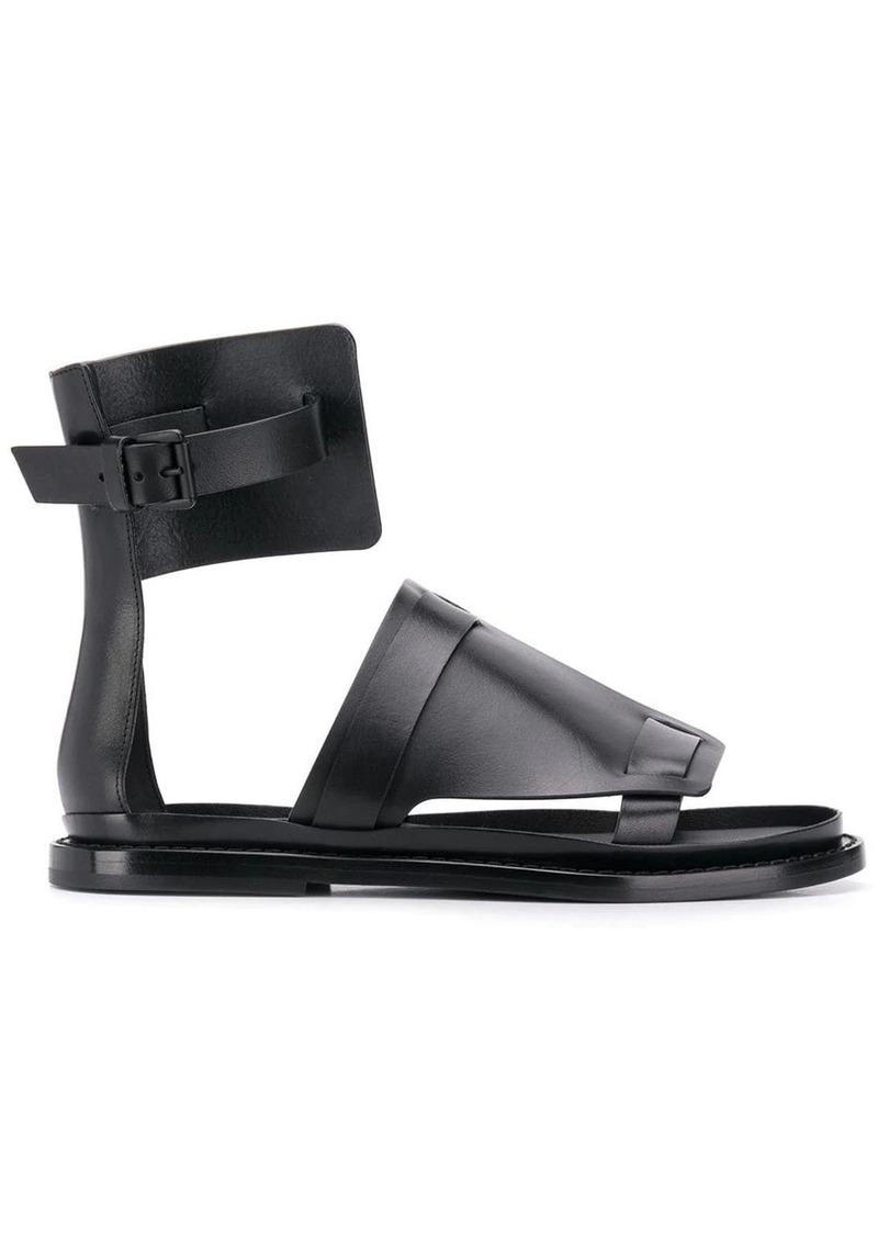Ann Demeulemeester flat gladiator sandals
