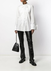 Ann Demeulemeester embroidered floral blouse