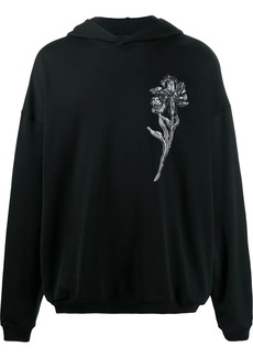 Ann Demeulemeester floral print hoodie