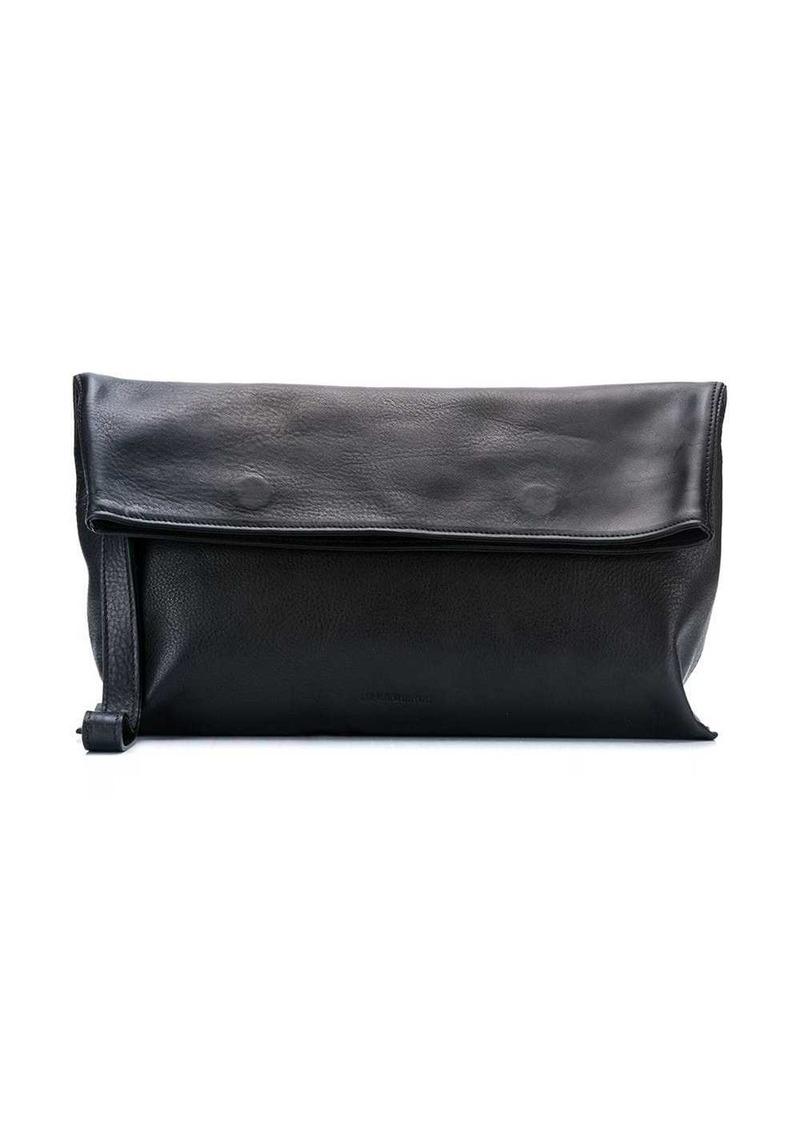 Ann Demeulemeester foldover clutch bag