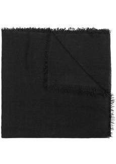 Ann Demeulemeester fray-trimmed scarf