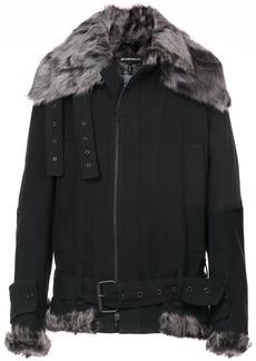 Ann Demeulemeester Fundamental shearling jacket