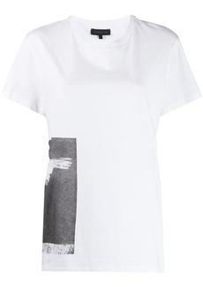 Ann Demeulemeester graphic print cotton T-shirt