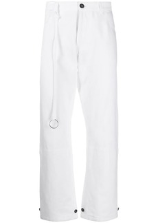 Ann Demeulemeester high rise cropped jeans