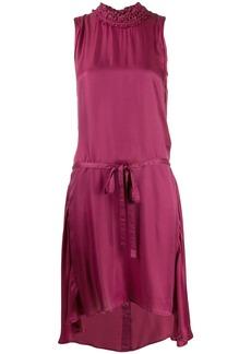 Ann Demeulemeester high ruffled neckline dress