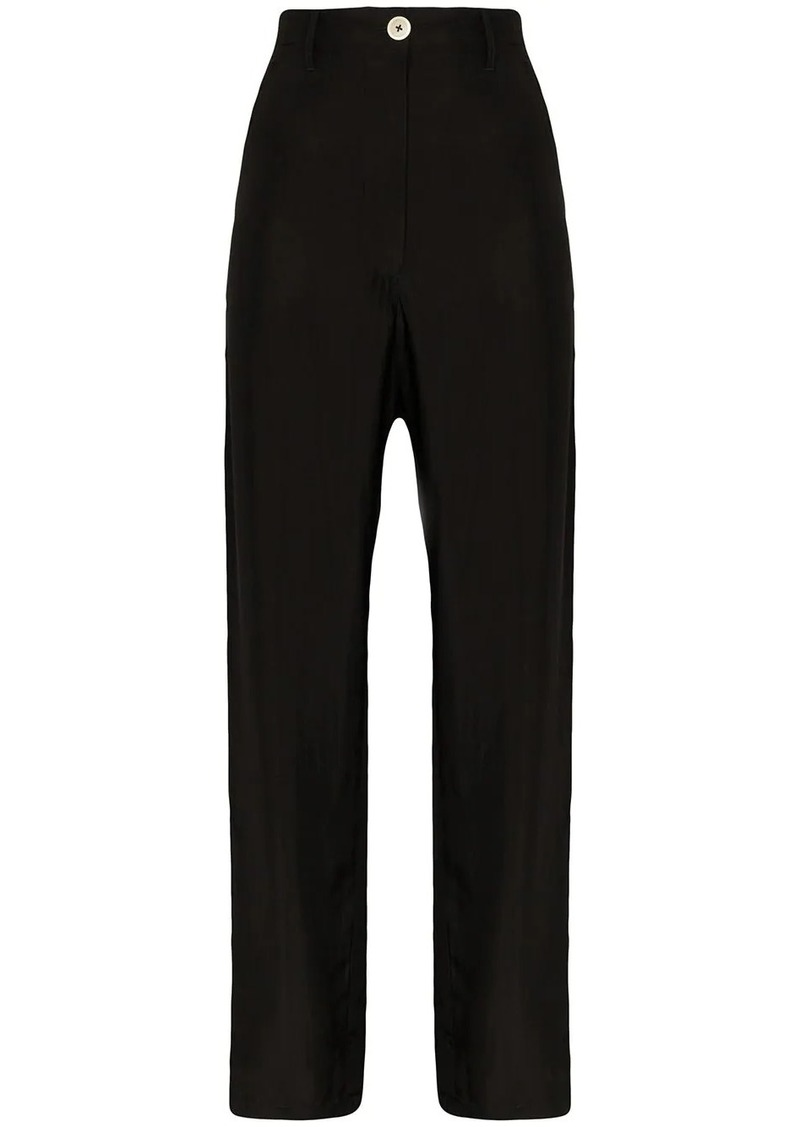 Ann Demeulemeester high-waisted cargo trousers