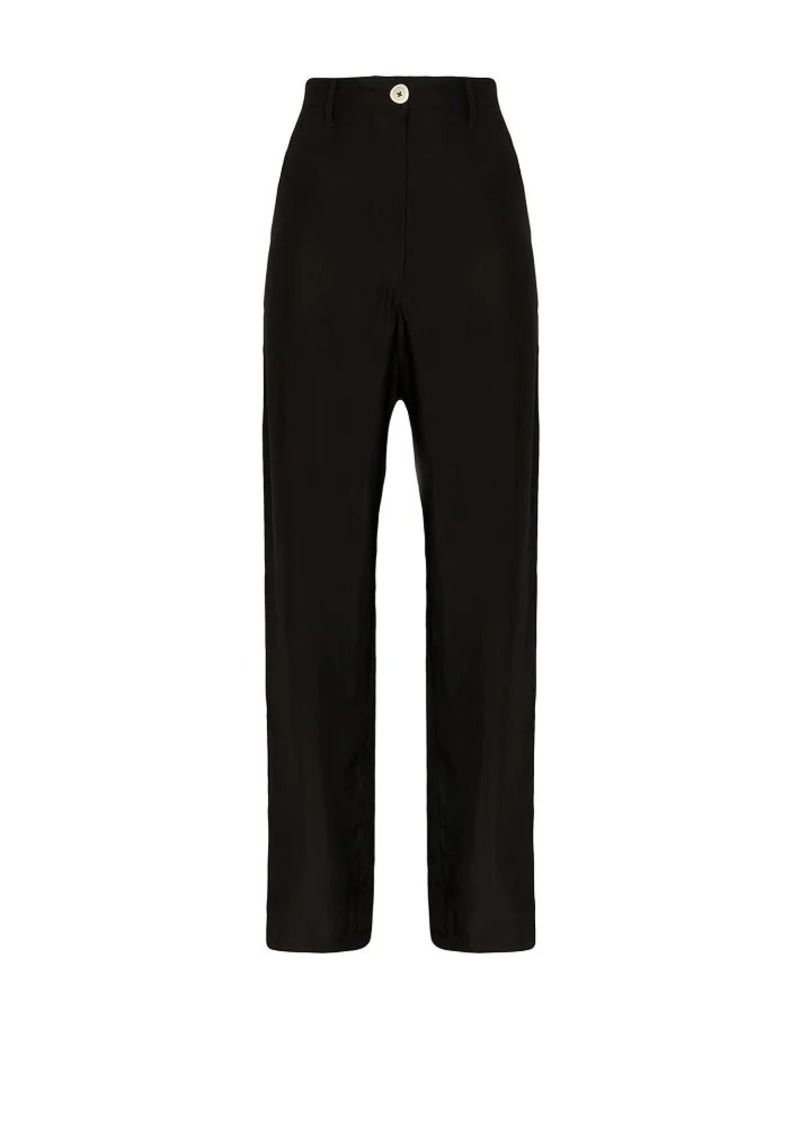 Ann Demeulemeester high-waisted cargo trousers